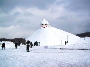 黒石雪だるま(日本一)02