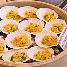 青森の郷土料理「帆立の貝焼き味噌」