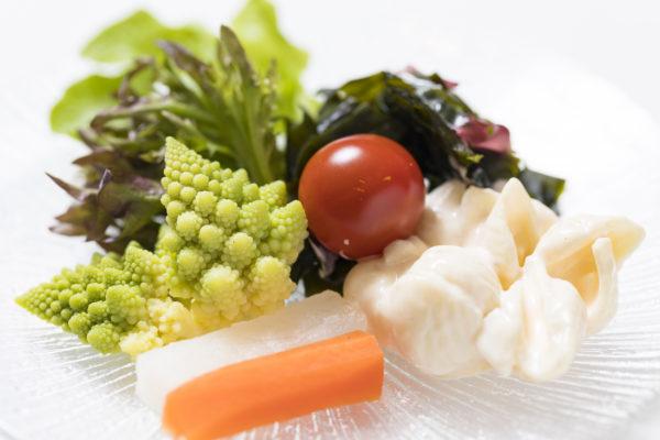 ミネラル豊富な野菜の数々