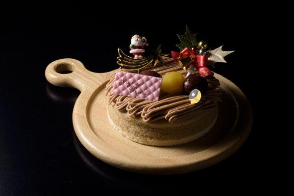 栗のモンブランケーキ(直径約15cm)