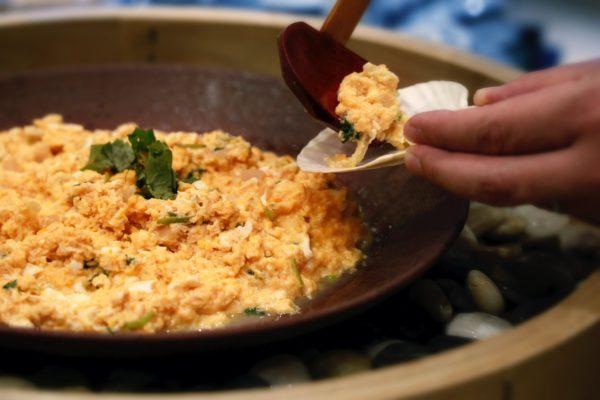 帆立の貝焼き味噌
